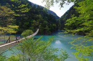 静岡 寸又峡-夢の吊り橋