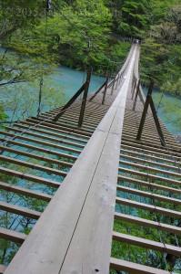 静岡 寸又峡-夢の吊り橋2